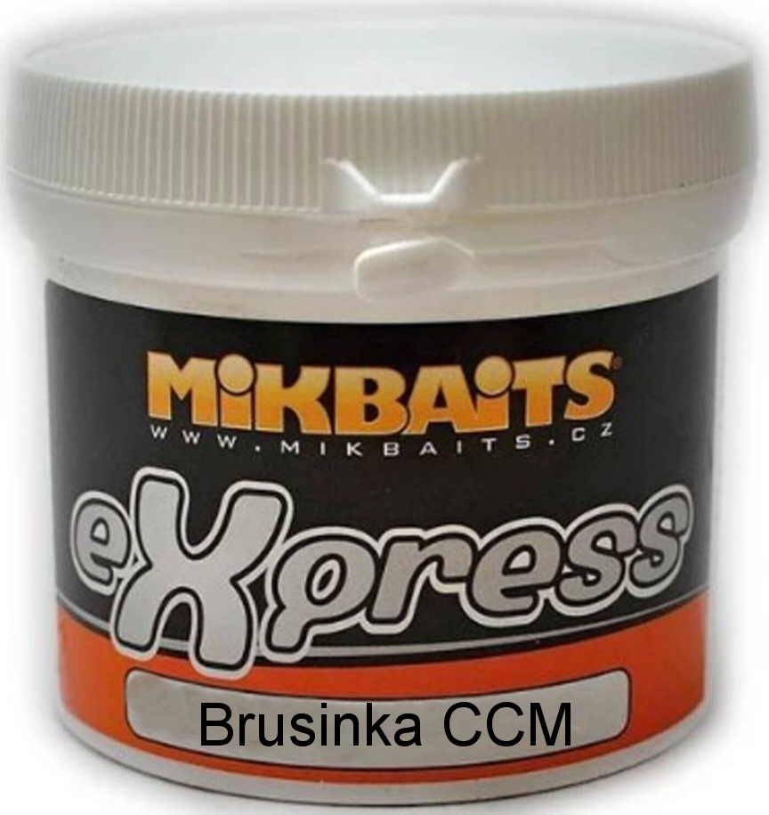 Mikbaits eXpress těsto Brusinka CCM 200g